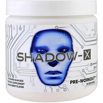 Cobra Labs, Предтренировочный комплекс Shadow-X, вкус волшебных ягод, 0,60 ф (270 г)