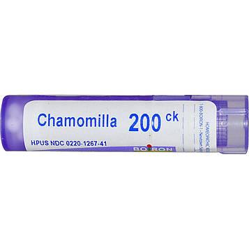 Boiron, Single Remedies, Ромашка, 200CK, прибл. 80 гранул