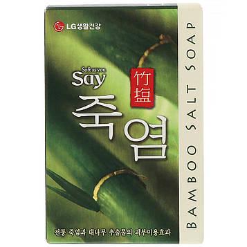 LG Household & Health Care, Бамбуковое соленое мыло, 100 г