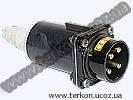 Вилка кабельная СС11-4х32-051.1 для ж/д путевого инструмента