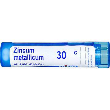 Boiron, Single Remedies, Цинкум металликум, 30C, прибл. 80 гранул