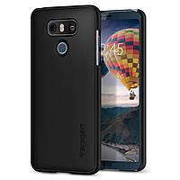 Чехол Spigen для LG G6 Jet Black™ Fit, фото 1