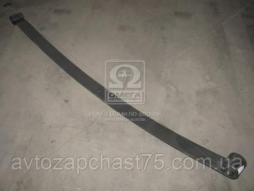 Лист рессоры передней Газ 33104, Валдай, №1, длина 1680 мм, с сайлентблоками (ГАЗ, Россия)