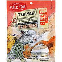 Field Trip Jerky, Beef Jerky, Teriyaki, 2.2 oz (62 g)