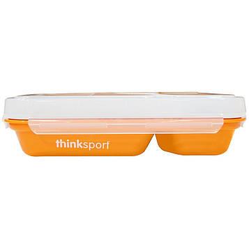 Think, Thinksport, Контейнер GO2, Оранжевый, 1 контейнер