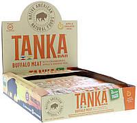 Tanka, Батончик с мясом буйвола, клюквой, яблоками и цедрой апельсина, 12 штук, 1 унция (28,4 г) каждый