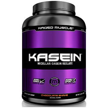 Kaged Muscle, Казеин, мицеллярный, шоколадный коктейль, 4 фунта (1,8 кг)