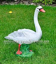 Садовая фигура Лебедь большой, фото 3