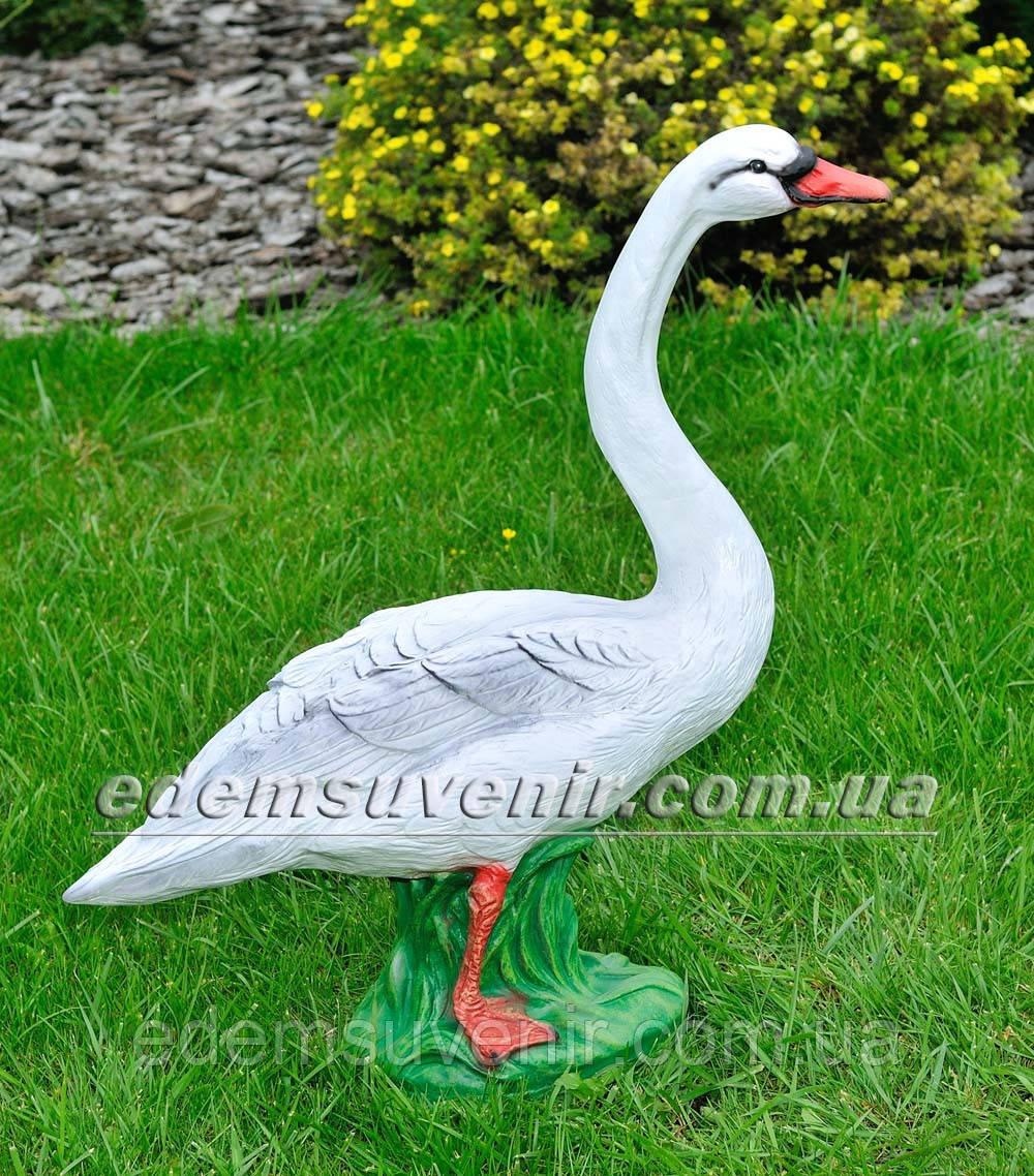 Садовая фигура Лебедь большой