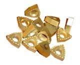Пластина твердосплавная сменная d36 и d22 для сверления отверстий в рельсах
