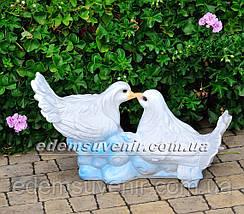 Садовая фигура Два Голубя, фото 3