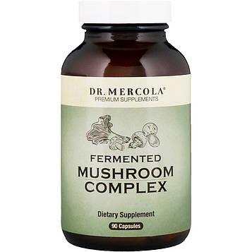 Dr. Mercola, Комплекс ферментированных грибов, 90 капсул