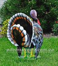 Садовая фигура Индюк, фото 3