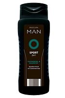 BIOCURA 3 в 1 Sport мужской шампунь и гель для душа 300 мл