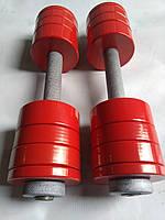 Гантели металлические 2 шт по 10 кг, фото 1