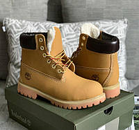 Timberland Wheat Boot 6 Inch Premium (с мехом)   ботинки  мужские и женские 369e09bbe33