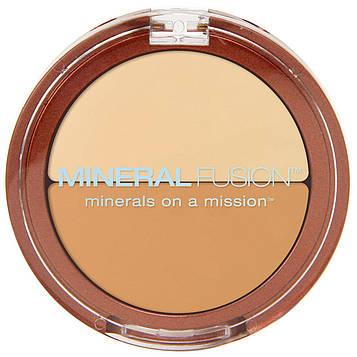Mineral Fusion, Корректор Duo, теплый оттенок, 0,11 унции (3,1 г)