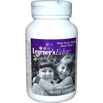 Enzymatic Therapy, Learners Edge, 90 растительных капсул