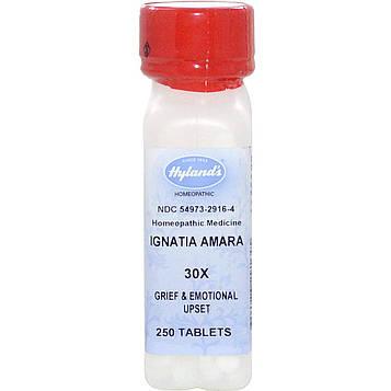 Hylands, Игнациа амара (Ignatia Amara) 30X, 250 таблеток