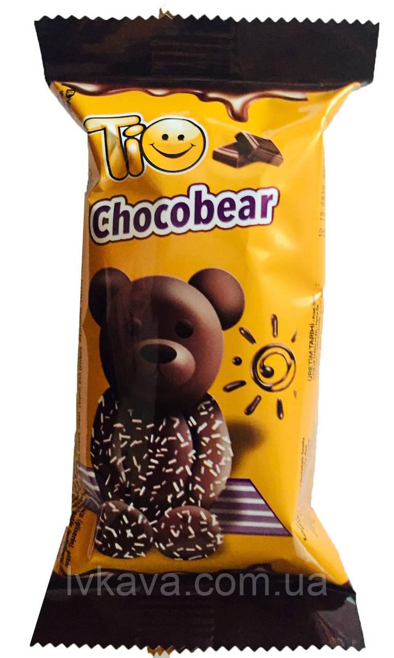 Бисквит Simsek Tio Chocobear с шоколадным кремом , 55 гр