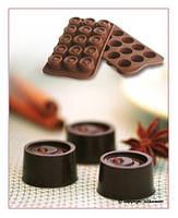 """Форма для шоколада """"Вихрь"""" Ø 28 мм h 20 мм Silikomart"""