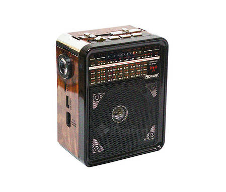 Радиоприёмник Golon RX-9100 USB, фонарик, фото 2