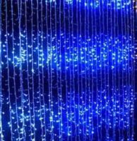 Гирлянда Водопад (Штора) 320 LED 5mm 3m*2m, синяя, фото 1