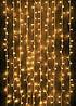 Гирлянда Водопад (Штора) 240 LED 5mm 2m*2m, тепло-белая