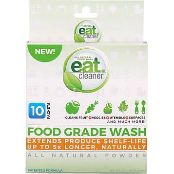 Eat Cleaner, Съедобное средство для очищения, абсолютно натуральный порошок, 10 пакетов, 3,2 унц. (90,72 г)