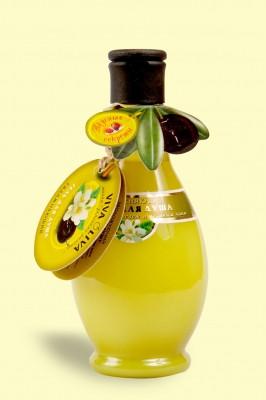 Гель для душа увлажняющий с оливковым маслом и зеленым чаем 275мл VivaOliva (1361)