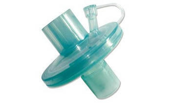 """Фільтр вірусо-бактеріальний """"MEDICARE"""" одноразового використання, стерильний (тепло- та вологообмінник, з портом)"""