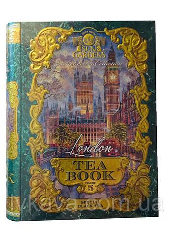 Чай черный London Tea Book, том 5 Sun Gardens,ж\б, 100 гр, фото 2