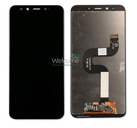 Модуль Xiaomi Mi A2/Mi6X black дисплей экран, сенсор тач скрин Сяоми Ксиоми Ми А2, 6Х, фото 2