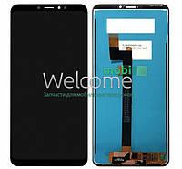 Модуль Xiaomi Mi Max 3 black дисплей экран, сенсор тач скрин Сяоми Ксиоми Ми Макс