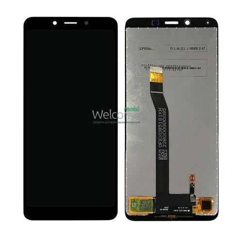 Модуль Xiaomi Redmi 6A black дисплей экран, сенсор тач скрин Сяоми Ксиоми Редми 6А
