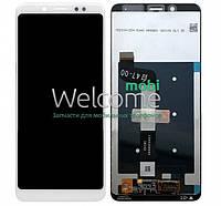 Модуль Xiaomi Redmi Note 5/Note 5 Pro white дисплей экран, сенсор тач скрин Сяоми Ксиоми Редми Нот 5 Про