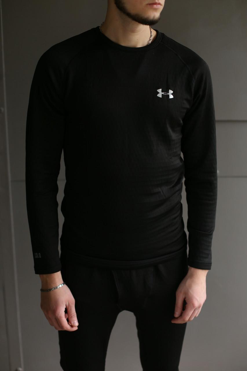 Термобелье комплект мужское черное брендовое от Under Armour Андер Армор высокое качество