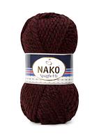 Nako Spaghetti темний бородо № 23626