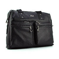 Мужской кожаный портфель arm-8919-3 bla сумка Armani, фото 1