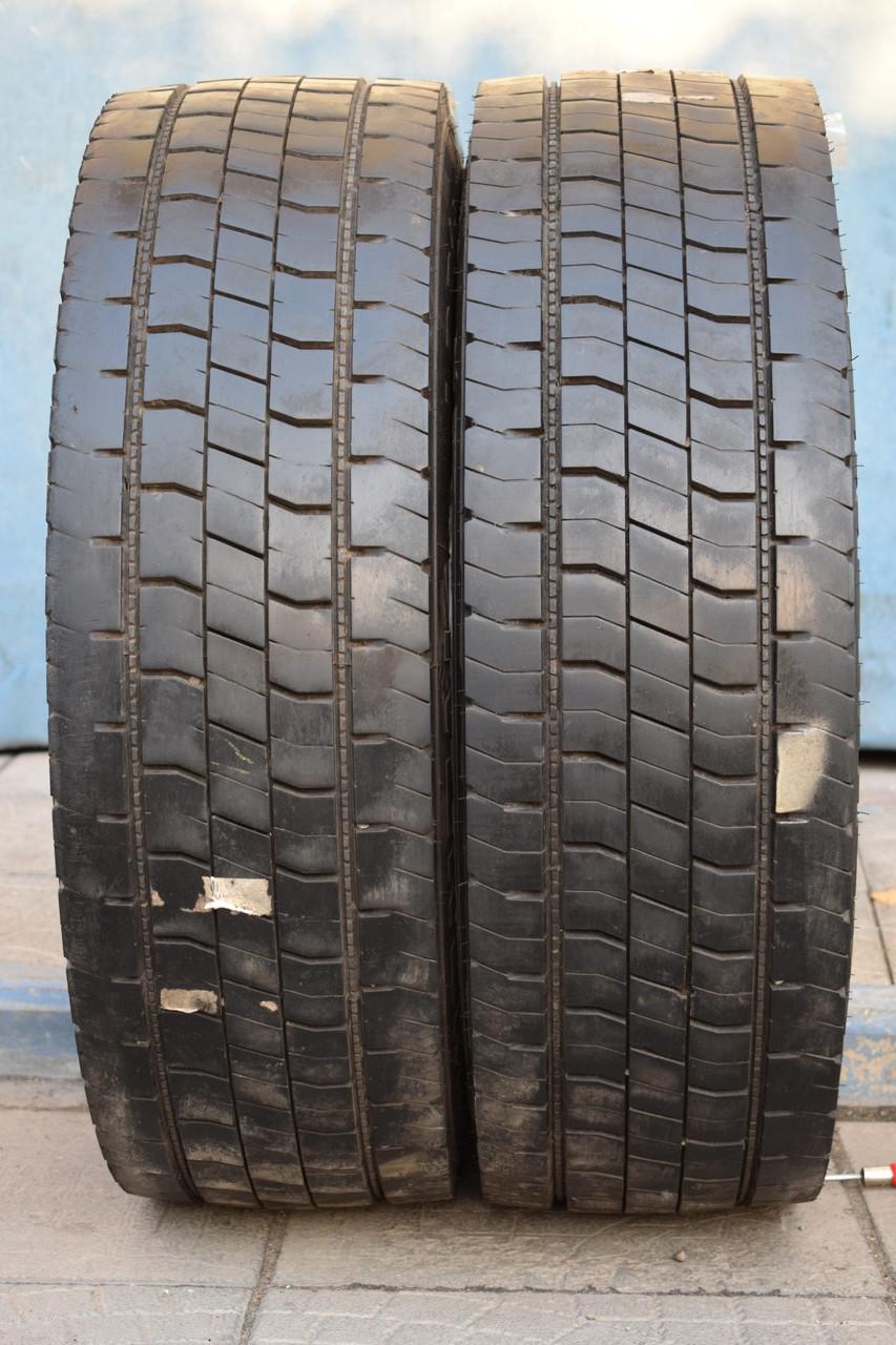 Грузовые шины б/у 245/70 R17.5 Continental, ТЯГА, 2015 г., пара