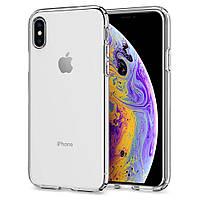 Чехол Spigen для iPhone XS Liquid Crystal, Crystal Clear