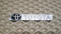 Эмблема большая, логотип TOYOTA для автомобильного ковра