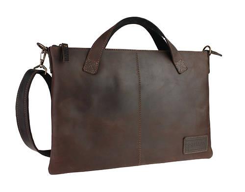 66edcf886e46a3 Сумка папка мужская для документов большая кожаная А4 SULLIVAN smg2(38)  коричневая: продажа, цена в Киеве. мужские сумки и барсетки от