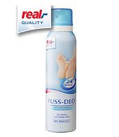 Real Quality дезодорант для ног 150 мл