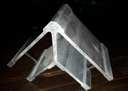 Стык угловой для трубы прямоугольной 40х80 мм