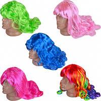 """Парик """"Волосы цветные"""""""