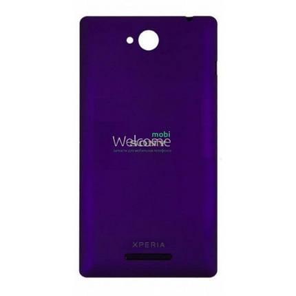 Задняя крышка Sony C2305 S39h Xperia C violet, сменная панель сони иксперия с2305, фото 2