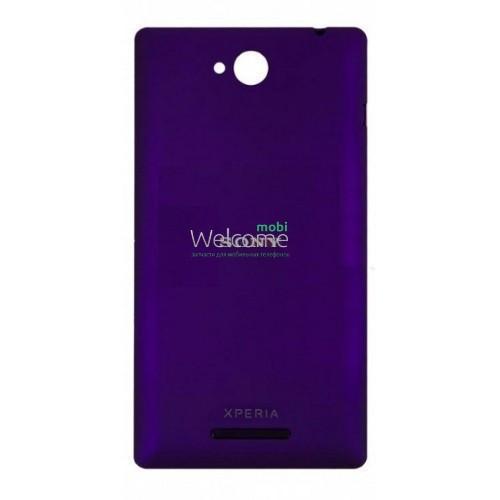 Задняя крышка Sony C2305 S39h Xperia C violet, сменная панель сони иксперия с2305