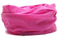 Баф бандана - BF124 однотонный розовый
