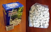 Фильтрующий материал Бикерамика 500 г, Биологический наполнитель (цилиндры), Resun (Ресан) CR-500